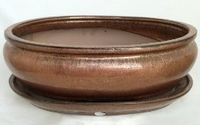 Premium Ceramic Bonsai Pot plus Saucer