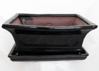 ro Bonsai Pot/Saucer - Pre-Wired/Screened