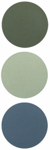 BLUE-GREEN EYE SHADOW EXTENSION COLORS