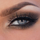 SILVER-BLUE-GREY EYE SHADOW EXTENSION COLORS