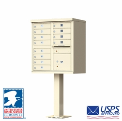 12 Tenant Door Auth-Florence Cluster Box Units