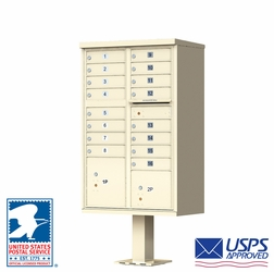 16 Tenant Door Auth-Florence Cluster Box Units