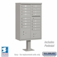 Cluster Box Unit - 16 A Size Doors - Type III - Grey - USPS Access