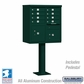 Cluster Box Unit - 8 A Size Doors - Type I - Green - USPS Access