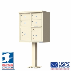 4 Tenant Door Auth-Florence Cluster Box Units