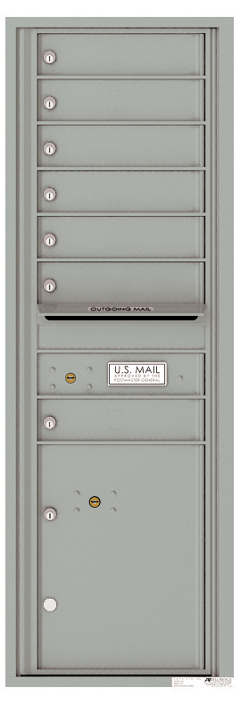 Auth florence mailboxes 4c14s 07 front loading commercial for Auth florence