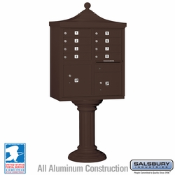 Regency Decorative 8 Door CBU - Cluster Mail Box - Bronze