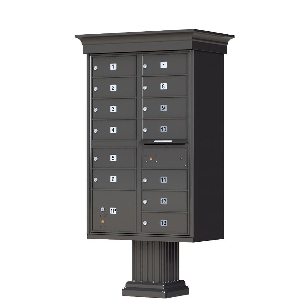 Auth florence decorative cluster box unit with 13 for Auth florence