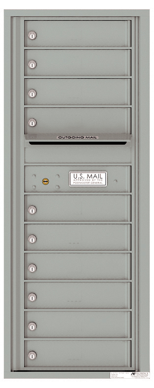 Auth florence mailboxes 4c12s 10 versatile front loading for Auth florence