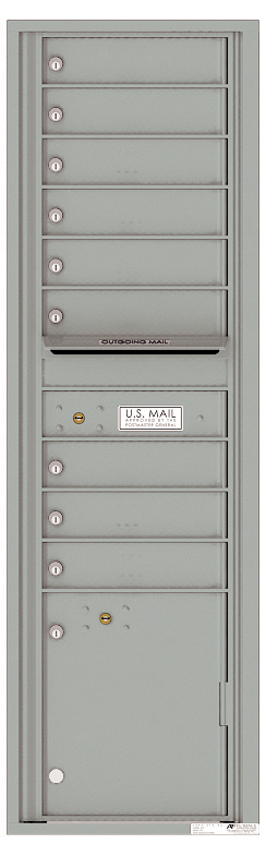 Auth florence mailboxes 4c16s 09 versatile front loading for Auth florence