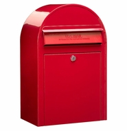 3001 Red Modern Lockable Mailbox