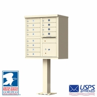 USPS Approved 12 Door Cluster Mailboxes