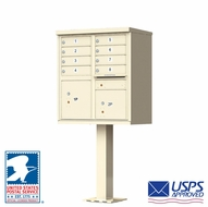 USPS Approved 8 Door Cluster Mailboxes