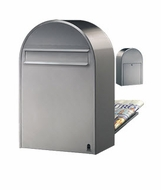 Classic B Stainless Mailbox (Rear Access)