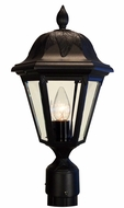 Floral Large Post Lantern Set Lighting Fixture