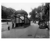 103rd Street & Broadway Train Station  - Upper West Side - New York, NY 1910