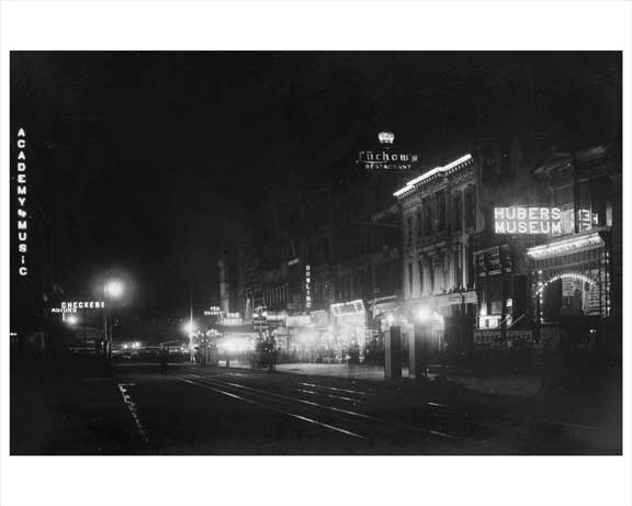 14th Street Looking East Facing 4th Avenue 1904 Union Square