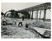 1948 Construction of the Idlewood Airport - Jamaica Queens NYC