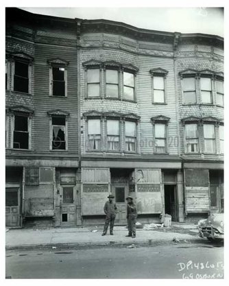1960 Men taking a stroll 69 Osborn Street - Brownsville Brooklyn NY