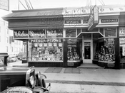 2576 Pitkin Avenue at southwest corner of Milford Street, 1938