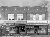 2619 - 2621 Pitkin Avenue at northwest corner of Fountain Avenue, 1938