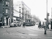 Kingston Avenue south from Fulton Street, 1948