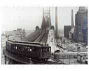 2nd Ave Train Queensboro Bridge 1935