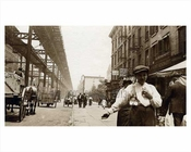 2nd Avenue looking north toward East 35th Street 1914 - Murray Hill - Manhattan - New York, NY