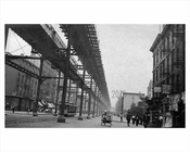 2nd Avenue North & East 35th Street - Murray Hill  - Manhattan 1914 NYC