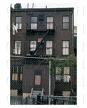 333 18th Street  - The back of the building - Park Slope  - 1970s - Brooklyn NY