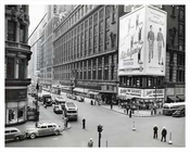 34th Street Macys Herald Square, with Saks in view on the corner 1943 Midtown Manhattan
