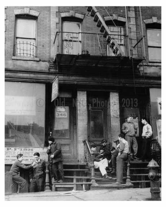 364 Rockaway Avenue 1940s Brownsville -  Brooklyn NY