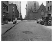 39th Street looking at the 7th Avenue intersection 1917 Chelsea NYC