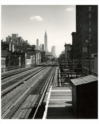 3rd Ave L 1940 Lower East Side - Manhattan - New York, NY