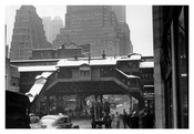 3rd Ave L station 1940s - Lower East Side  - Downtown Manhattan