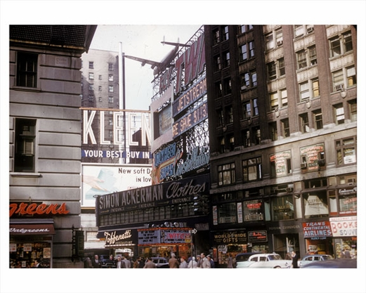 42nd St Times Square 1958 - Times Square - Midtown Manhattan - New York, NY