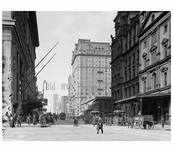 42nd Street 1900 Midtown Manhattan