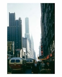 42nd Street looking east with the Chrysler Building in the background Midtown Manhattan
