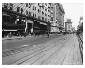 43rd Street & 7th Avenue - Midtown - Manhattan  1914