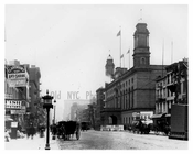 4th Avenue & 28th Street Old Madison Square Garden Gramercy Park, Manhattan, NY 1900