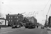 4th Avenue at 99th Street, Fort Hamilton, end of trolley line