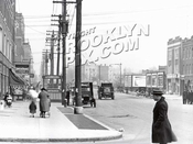 4th Avenue looking from 87th to 86th Street, 1923