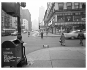 50th Street & Broadway 1957 - Midtown Manhattan