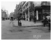 50th Street & Broadway - Midtown -  Manhattan 1916