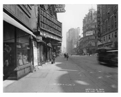 52nd Street & Broadway -  Midtown Manhattan  NY 1914