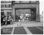 59th & Broadway - B & O Railroad