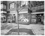 59th Street & Broadway Store Fronts 1957  - Midtown Manhattan - New York, NY