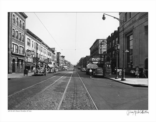 5th & 75th Street Brooklyn NY 1945