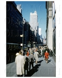 5th Ave 44th Street, Midtown, Manhattan, NYC 1959