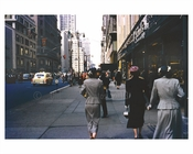5th Avenue 1956 Midtown Manhattan